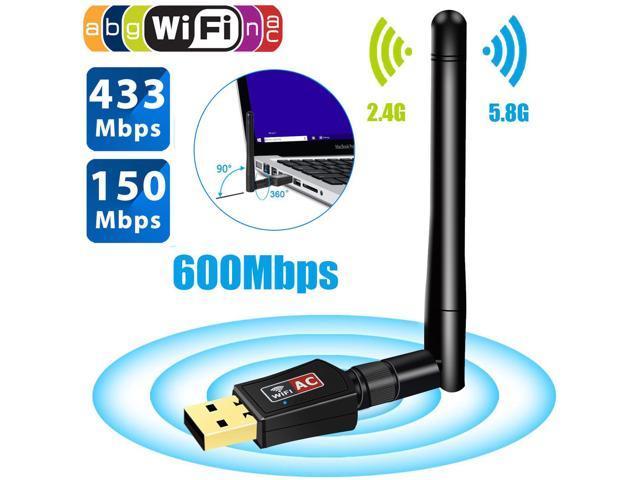 600Mbps Wireless Internet Signal Booster Wifi Range Extender USB Adapter  Antenna - Newegg com