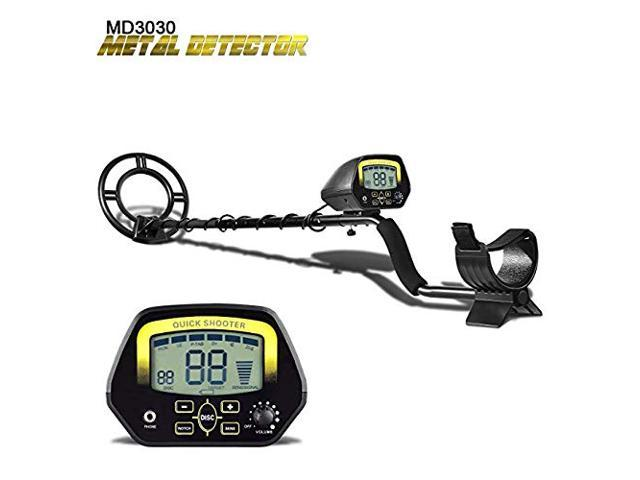 Metal Detector MD3030 Lightweight Professional Handheld Detectors Underground Treasure Hunter LCD Display Gold And Jewelry Hunting Under Shallow