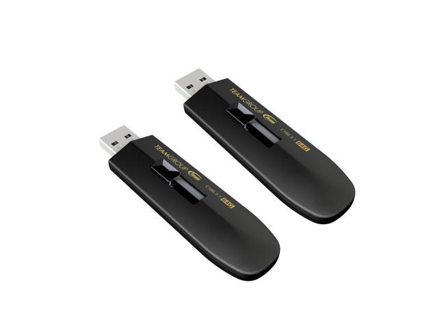 2-Pack Team Group 64GB C186 USB 3.1 Flash Drive