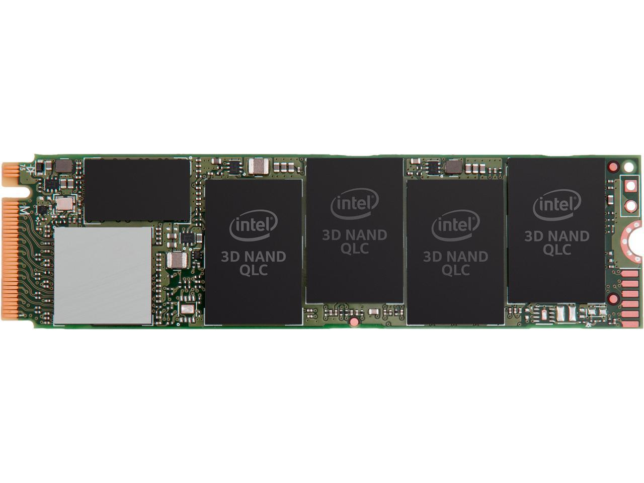 Intel 660p Series M.2 2280 512GB PCI-Express 3.0 x4 3D NAND Internal Solid State Drive