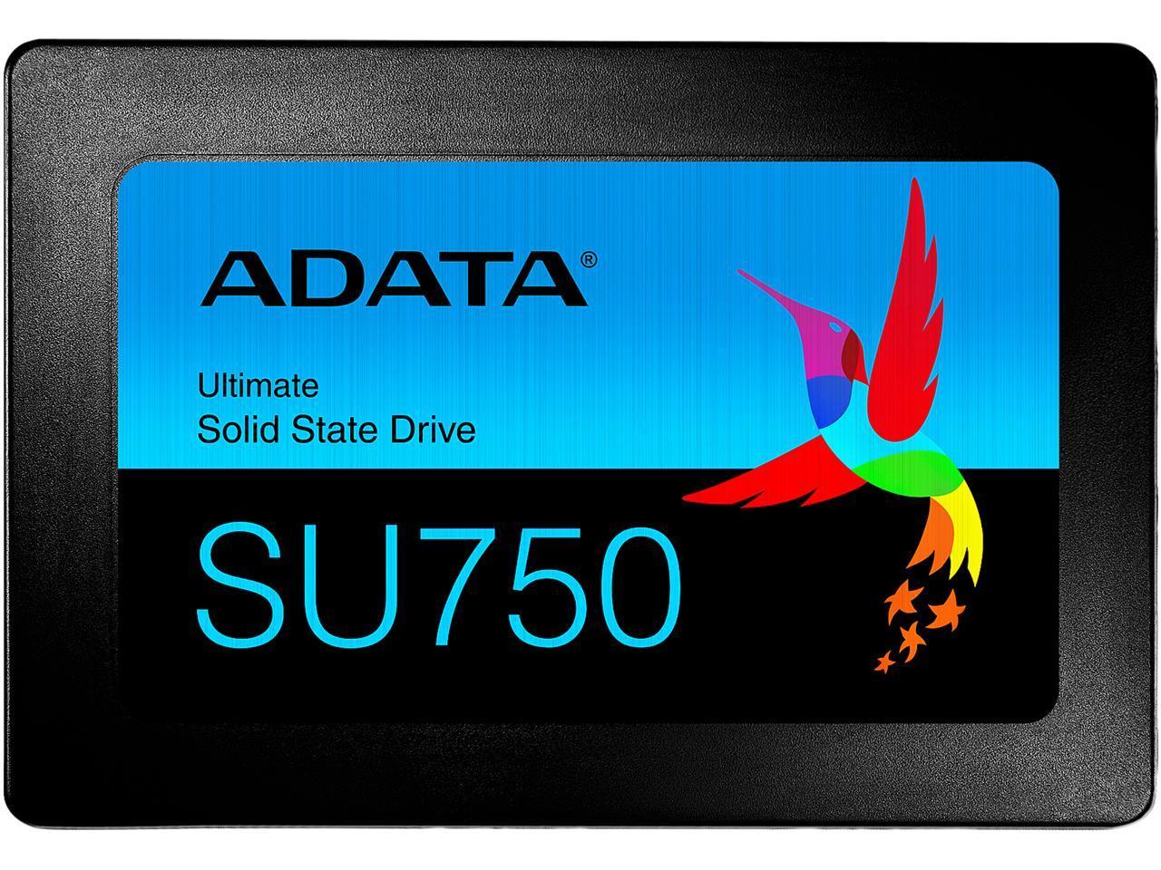 """ADATA ASU750SS-1TT-C 2.5"""" 1TB Internal Solid State Drive"""