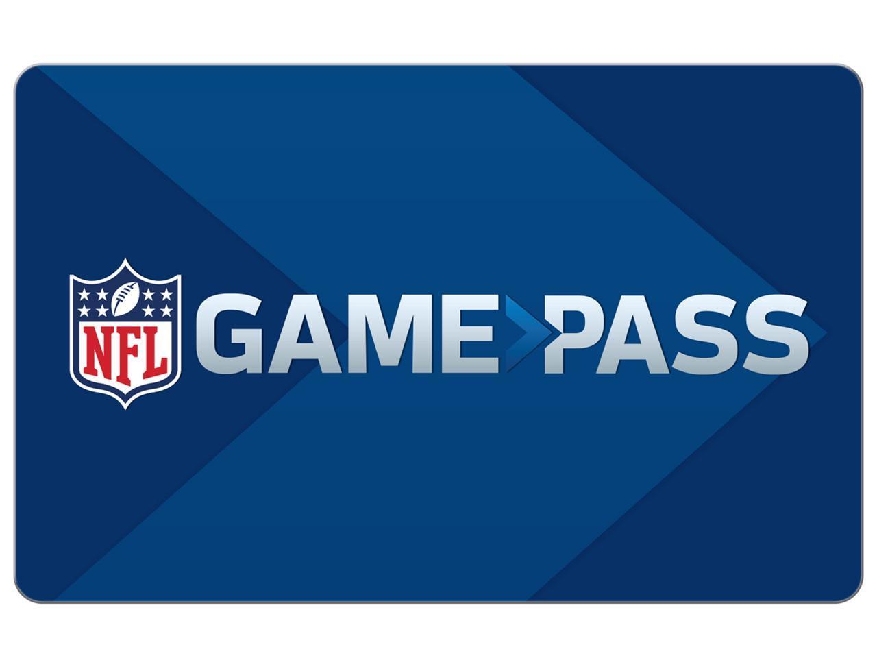 NFL Game Pass Season Long Access + Nike $50 Gift Card