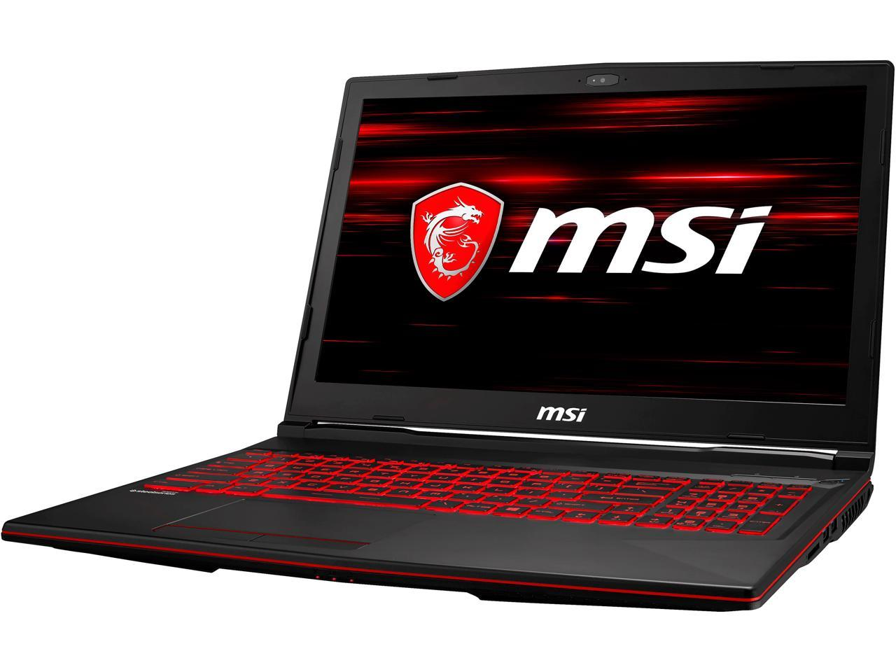 "MSI GL63 15.6"" FHD Hex Core i7 Gaming Laptop + Backpack + $50 GC"