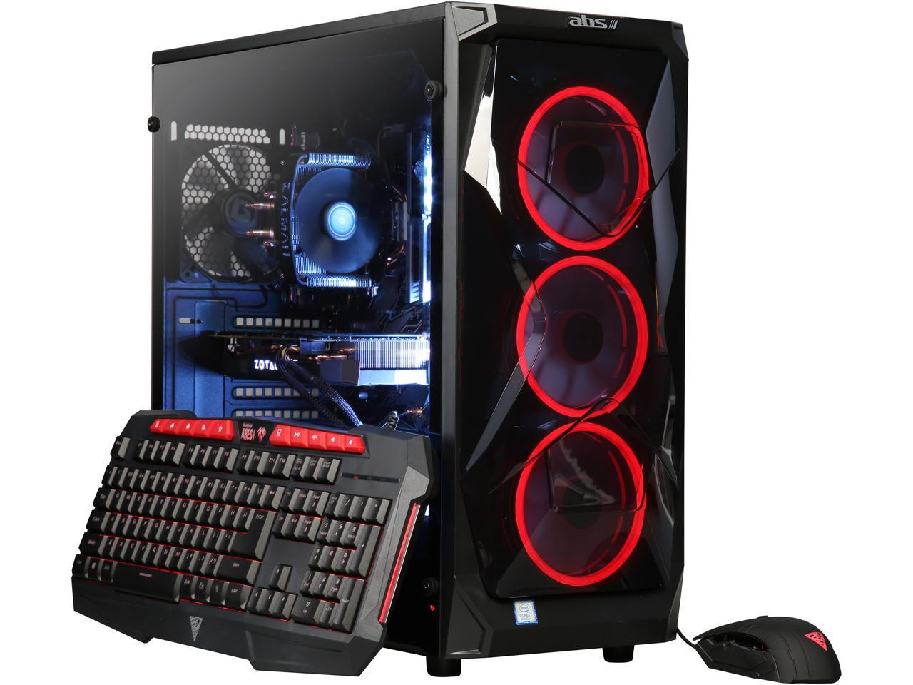 ABS Gaming Desktop (Hex Core i7-8700K / 16GB / 2TB HDD & 240GB SSD)