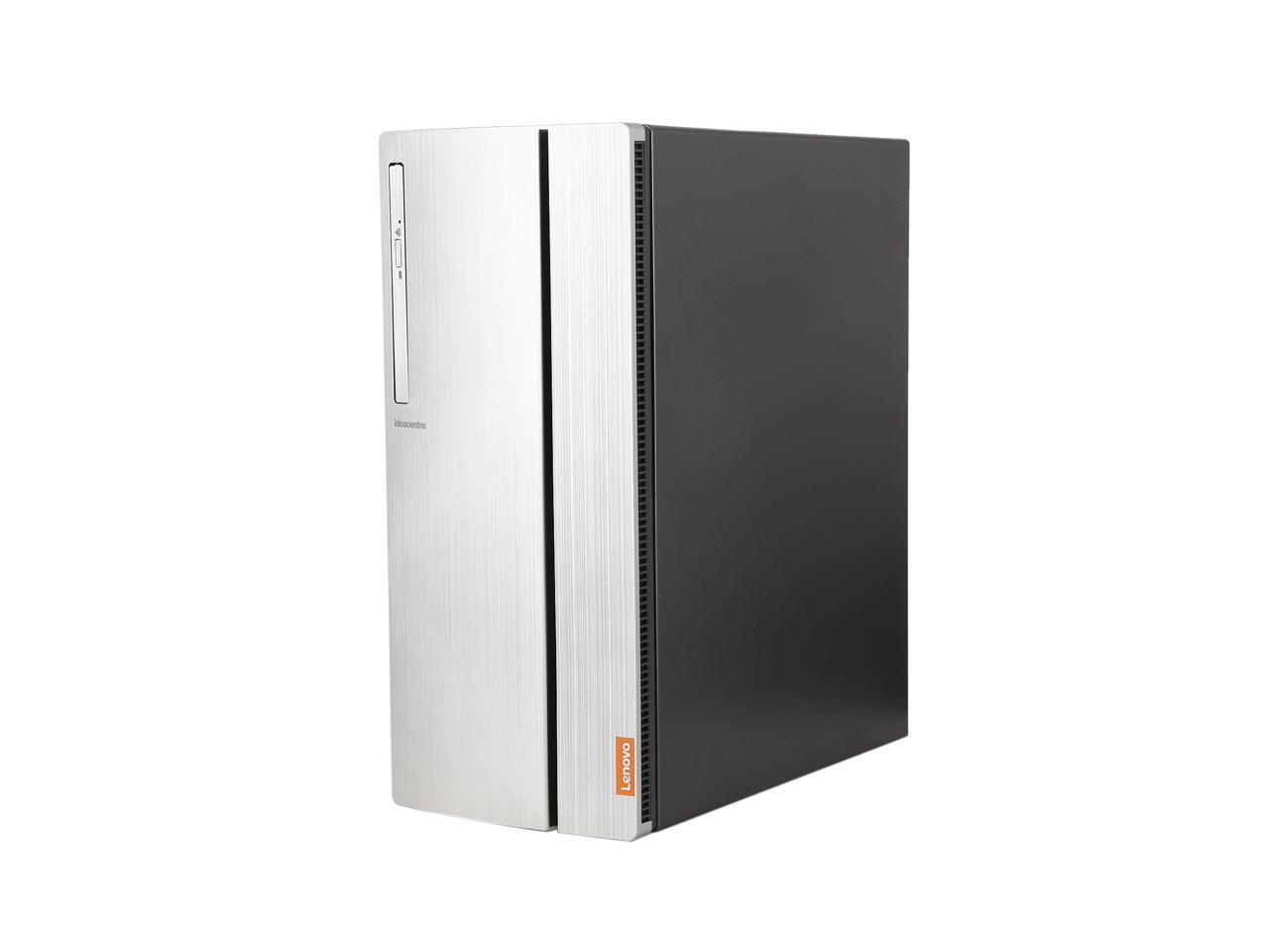 Lenovo IdeaCentre 720-18ASU Desktop with AMD Quad Core Ryzen 3 1200 / 8GB / 1TB / Win 10 / 2GB Video