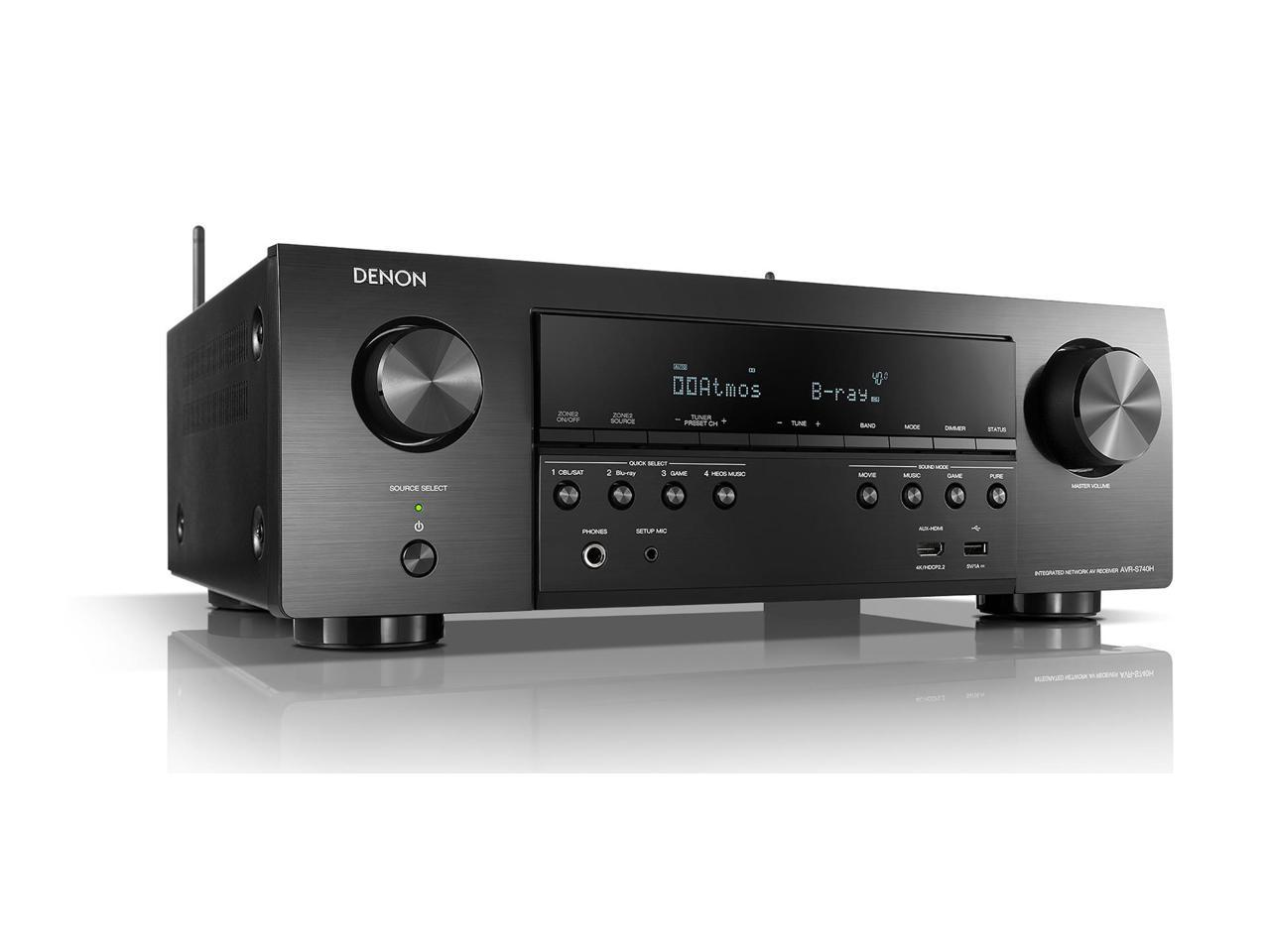 Pioneer VSX832 5.1 Channel 3D 4K Ultra HD A/V Home Theater Receiver (Black) + $15 Gift Card