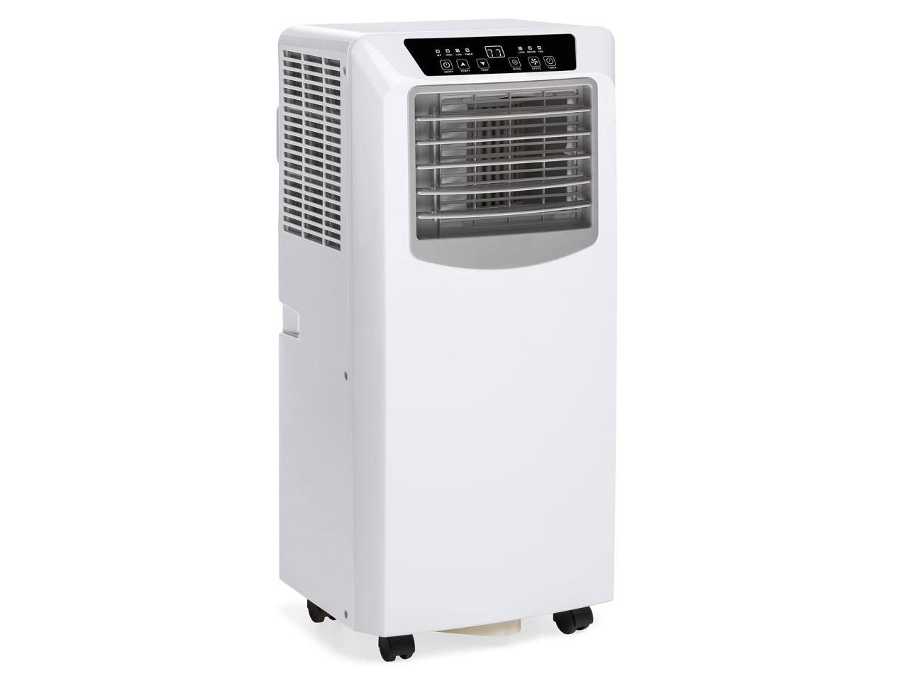 Best Choice Products 3-in-1 10,000 BTU Air Conditioner Cooling Fan Dehumidifier w/ Remote Control