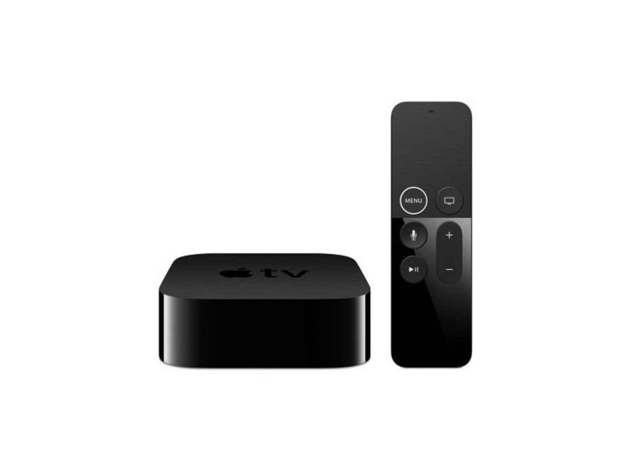 Apple TV 32GB 4K HDR Media Streamer - Black (MQD22LL/A