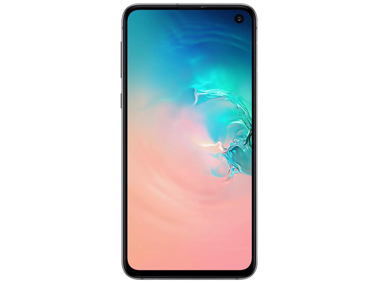 Samsung Galaxy S10e 128GB SM-G970F/DS Hybrid/Dual-SIM (GSM Only, No CDMA) Factory Unlocked 4G/LTE Smartphone - International Version No Warranty (Prism White)