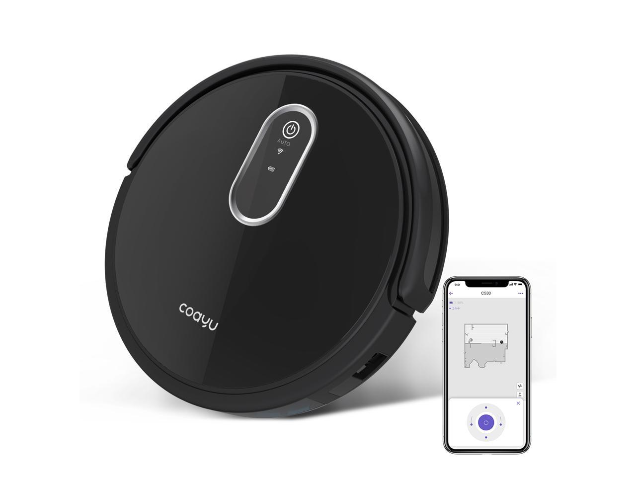 COAYU C530 Self-Charge Robot Vacuum Cleaner, Super Quiet with Max Suction