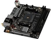 ASRock Fatal1ty B450 GAMING-ITX/AC AM4 AMD B450 SATA 6Gb/s USB 3.1 HDMI Mini ...