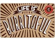 $25 Chipotle Gift Card