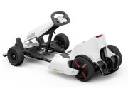 Ninebot GoKart Kit - Adjustable frame length & steering wheel height with 3 speed modes with Ninebot Mini Bundle Deal