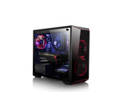 CLX SET GAMING PC Intel Core i7 8700K 3.70GHz (6 Cores) 16GB DDR4 2TB HDD & 480GB SSD NVIDIA GeForce RTX 2080 8B GDDR6 MS Windows 10 Home 64-Bit
