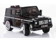 Mercedes Benz G55 AMG SUV 12V Electric Ride on Car for Kids with Remote - Black