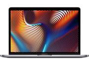 "Apple 13.3"" MacBook Pro with Touch Bar, Intel Core i5 Quad-Core, 8GB RAM, 256GB SSD, Intel Iris Plus Graphics 655 - Mid 2019, Space Gray"