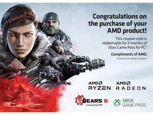 AMD RYZEN 5 2400G Quad-Core 3 6 GHz (3 9 GHz Max Boost