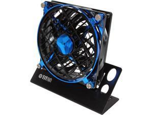 TITAN TTC-NF01TZ/BB USB Fan, Alumin. Base w/Speed Control
