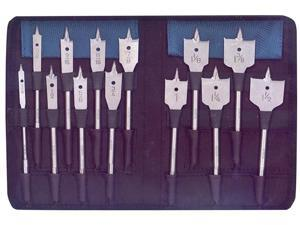 BOSCH                                    13 Piece Set RapidFeed™ Spade Drill Bits & Nylon Storage