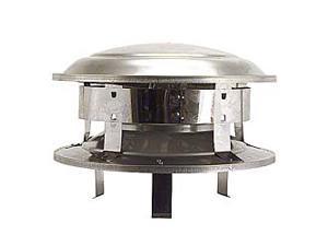 """Selkirk Metalbestos 8T-CT 8"""" Stainless Steel Round Top"""
