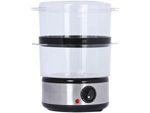 Brentwood 2-tier Food Steamer Brushed Stainless Steel TS-1005