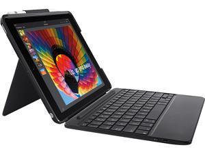 Logitech Slim Combo Keyboard/Cover Case iPad (2017), iPad (2018) - Black