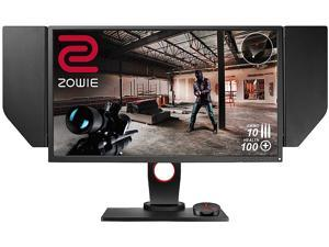 "Benq Zowie XL2740 Black 27"" Widescreen Monitor G-Sync Compatible FreeSync 240Hz 1ms (GtG) VESA Height Adjustable Stand with Shield DVI 2x HDMI DisplayPort Headphone & Mic Jack"
