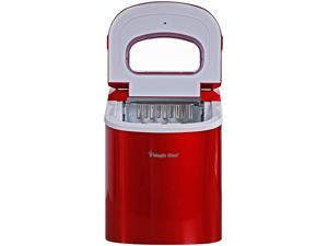 MAGIC CHEF MCIM22R 27lb Ice Maker - Red