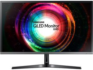 "Samsung 750 Series U28H750 28"" Ultra HD 3840 x 2160 4K Resolution 1ms 2x HDMI, DisplayPort AMD FreeSync Flicker-Free QLED Gaming Monitor"