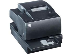 NCR RealPOS 7167-6011-9001 Multifunction POS Printer with MICR, Serial RS232/USB - Charcoal