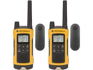 Motorola T402 Talkabout Rechargeable Two-Way Radios 2-Pack