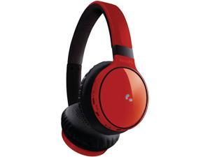 Philips SHB9100 Bluetooth On-Ear Headphones - Red