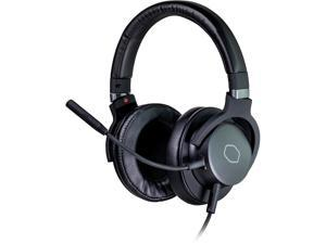 Cooler Master MH-751 2.0 Gaming Headset with Plush, Swiveled Earcups, 40mm Neodymium Drivers, and Omni-Directional Boom Mic for PC, PS4, and Xbox