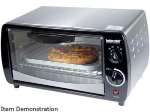 Better Chef IM-269SB Toaster Oven Silver 300W 9 Liter W/Bake Pan & Wire Rack Home & Garden
