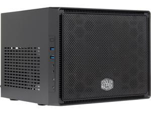 COOLER MASTER Elite 110 RC-110-KKN2 Midnight Black Steel / Plastic Mini-ITX Tower Computer Case