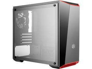 Cooler Master MasterBox Lite 3.1 TG mATX Tower w/ Front Dark Mirror Panel, 3 Customize Color Trims & Tempered Glass Side Panel