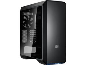 Cooler Master  MasterCase MC600P ATX-Mid Tower w/FreeForm Modular, Minimal Design, Tempered Glass Side Panel, Front RGB LED Strip, Discreet Air Vents & Cable Management Cover