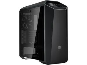 Cooler Master MasterCase MC500M Mid-Tower ATX Case w/ FreeForm Modular, Type-C I/O Panel, Tempered Glass Side Panel, RGB Panel Plate & Cable Management Cover