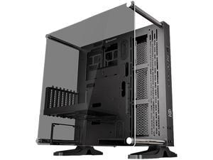 Thermaltake Core P3 TG Black ATX Open Frame Panoramic Viewing Tt LCS Certified Gaming Computer Case CA-1G4-00M1WN-06