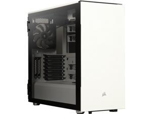 Corsair Carbide Series 678C CC-9011170-WW White Steel / Plastic / Tempered Glass ATX Mid Tower Low Noise Tempered Glass ATX Case