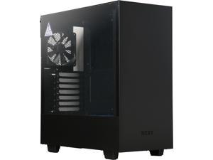 NZXT H500 CA-H500B-BL Matte Black/Blue SECC Steel and Tempered Glass ATX Mid Tower Computer Case