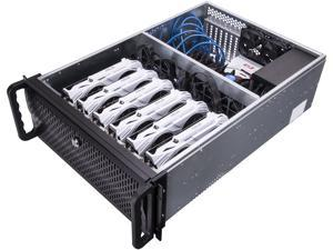 Rosewill RSV-L4000B - 4U Rackmount Server Case / Chassis for Bitcoin Mining Machine