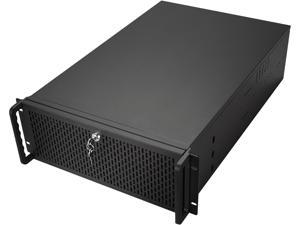 Rosewill RSV-4015L Server Case or Chassis, 4U Rackmount - 8 x Included Cooling Fans, 15 x Internal Bays