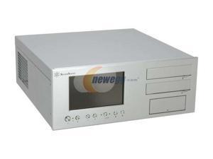 SILVERSTONE Silver Aluminum Lascala Series LC18S-V64 ATX Media Center / HTPC Case