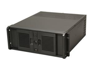 iStarUSA D-407PL Black Steel 4U Rackmount Compact Stylish Server Case