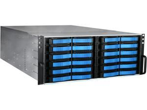 iStarUSA V-4-M24SA-RF Aluminum / Steel 4U Rackmount Build-to-Order - 4U 24-Bay Storage Server Rackmount Chassis