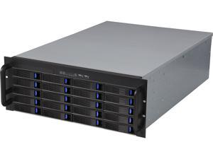NORCO RPC-4220 4U Rackmount Server Chassis w/ 20 Hot-Swappable SATA/SAS 6G Drive Bays (Mini SAS Connector)