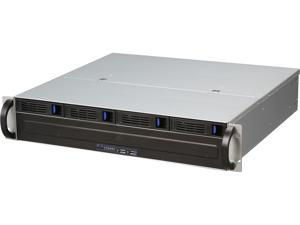 NORCO RPC-2304 2U Rackmount 2U Short Depth Rackmount Chassis with 4 x Hot Swap Trays