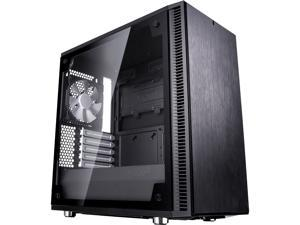 Fractal Design Define Mini C TG Black Tempered Glass Window Silent Compact Micro ATX Mini Tower Computer Case