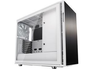Fractal Design Define R6 White Brushed Aluminum/Steel ATX Silent Modular Tempered Glass Window Mid Tower Computer Case